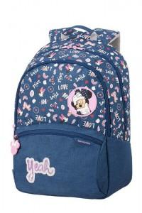 Samsonite Školní batoh Color Funtime Disney L 24 l – Minnie Doodles