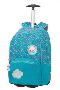 Samsonite Školní batoh na kolečkách Color Funtime 26 l – modrá