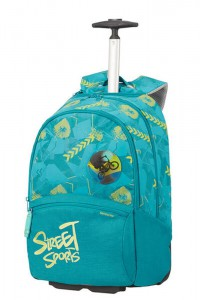 Samsonite Školní batoh na kolečkách Color Funtime 26 l – tyrkysová
