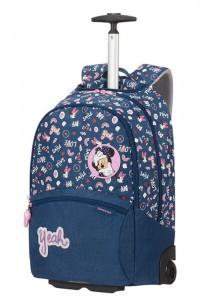 Samsonite Školní batoh na kolečkách Color Funtime Disney 26 l – tmavě modrá