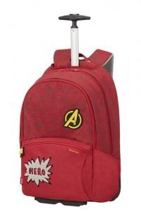 Samsonite Školní batoh na kolečkách Color Funtime Disney Marvel 26 l – Marvel Avenger Doodles