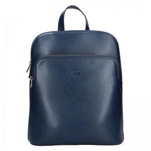 Dámský kožený batoh Katana Alens – modrá