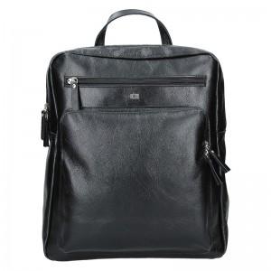 Pánský kožený batoh Daag Anthony – černá