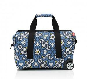 Cestovní taška na kolečkách Reisenthel Allrounder Trolley Floral flair