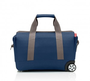Cestovní taška na kolečkách Reisenthel Allrounder Trolley Dark blue