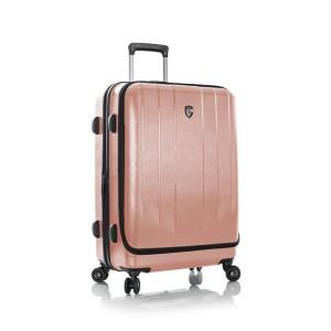 Heys EZ Access M elegantní cestovní kufr TSA 66 cm 84 l Rose Gold