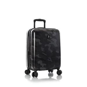 Heys Black Camo S palubní kufr TSA 53 cm 49 l