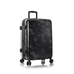 Heys Black Camo M cestovní kufr TSA 66 cm 87 l