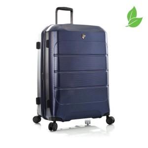 Heys EcoCase L elegantní cestovní kufr TSA 76 cm 125 l Navy