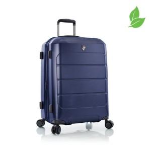 Heys EcoCase M elegantní cestovní kufr TSA 66 cm 84 l Navy