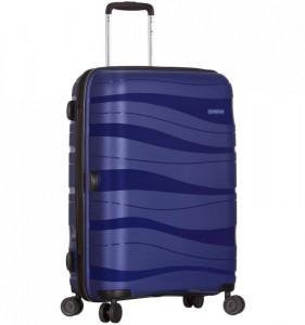 Azure Sirocco T-1233 L cestovný kufor TSA 78 cm 95 l Blue