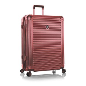 Heys Edge L elegantní cestovní kufr TSA 76 cm 134 l Burgundy