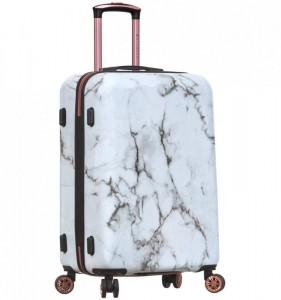 Azure Sirocco T-1251 M cestovný kufor TSA 67 cm 59 l Marble