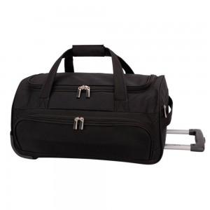 David Jones Paris Cestovní taška na kolečkách B-999 40 l – černá