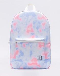 Batoh Herschel Supply Daypack Tie Dye Print/ Blanc De Blanc Střední (21 – 30 litrů)