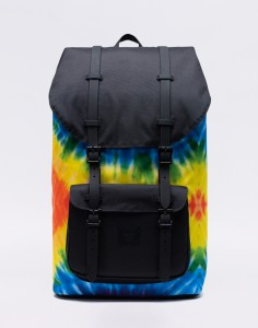 Batoh Herschel Supply Little America Rainbow Tie Dye Střední (21 – 30 litrů)