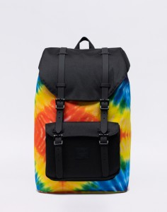 Batoh Herschel Supply Little America Mid-Volume Rainbow Tie Dye Malé (do 20 litrů)