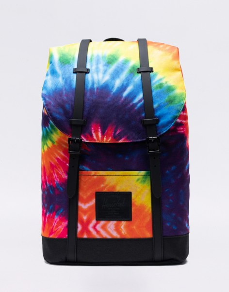 Batoh Herschel Supply Retreat Rainbow Tie Dye Malé (do 20 litrů)