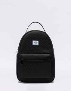 Batoh Herschel Supply Nova Small Woven Black Malé (do 20 litrů)