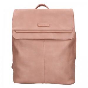 Moderní dámský batoh Enrico Benetti Alexa – růžové