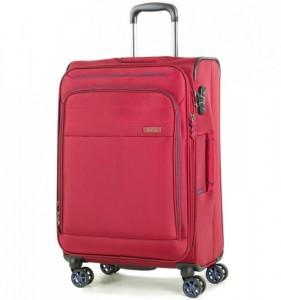 ROCK TR-0162 Apollo M cestovný kufor TSA 67 cm 58/67 l červený