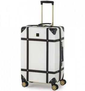 ROCK TR-0193 Vintage M cestovný kufor TSA 68 cm 60 l Cream