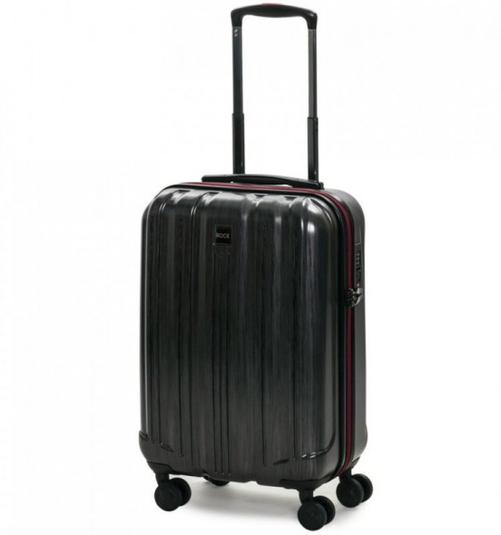 ROCK TR-0201 Graphite S palubný kufor do lietadla TSA 55 cm Charcoal
