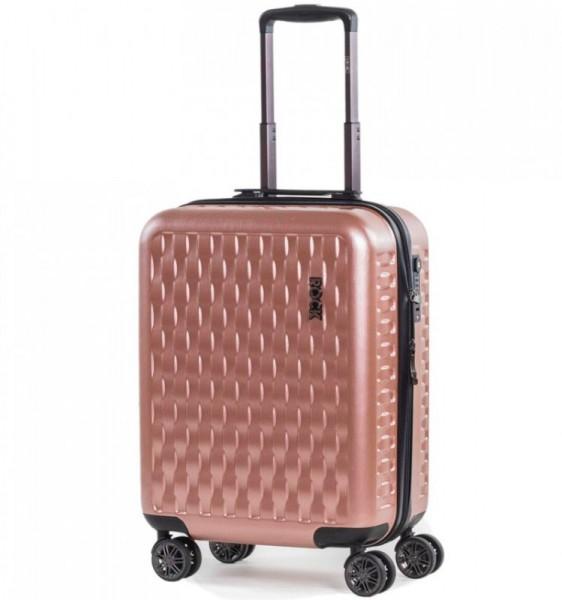 ROCK TR-0192 Allure S palubný kufor do lietadla TSA 56 cm Pink