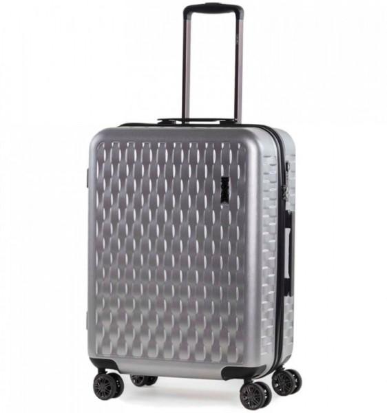 ROCK TR-0192 Allure M cestovný kufor TSA 65 cm 63 l Silver