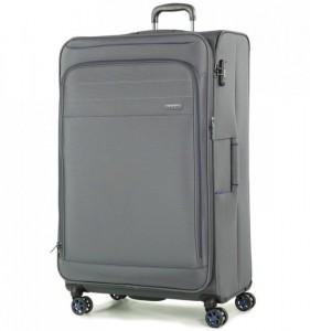 ROCK TR-0162 Apollo XL cestovný kufor TSA 89 cm 131/151 l sivý