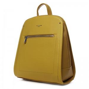 Módní dámský batoh David Jones Klea – žlutá