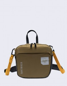 Herschel Supply Ultralight Crossbody Trail Khaki Green/ Arrowwood/Black