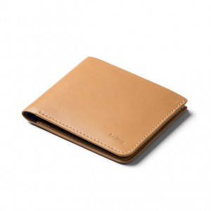 The Square Wallet Tan