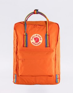 Batoh Fjällräven Kanken Rainbow 212-907 Burnt Orange-Rainbow Pattern Malé (do 20 litrů)