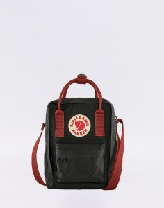 Fjällräven Kanken Sling 550-326 Black-Ox Red