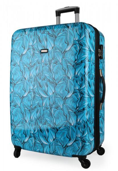Madisson Skořepinový cestovní kufr L 76820 – modrá