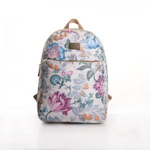 LiLiÓ Folkloric Fun M Backpack městský dámský batoh 7,1 l Whipped Cream