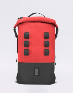 Batoh Chrome Industries Urban Ex Rolltop 18 Red /Black Malé (do 20 litrů)
