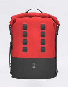 Batoh Chrome Industries Urban Ex Rolltop 28 Red/ Black Střední (21 – 30 litrů)