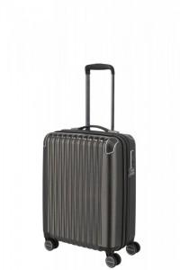 Titan Barbara Glint S dámský palubní kufr TSA 55x40x20 cm 45 l Anthracite Metallic