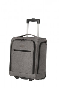 Travelite Kabinový cestovní kufr Cabin 2w Underseater Grey Melange 28 l