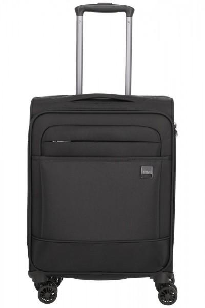 Titan Kabinový cestovní kufr Calexx 4w S Black 33 l