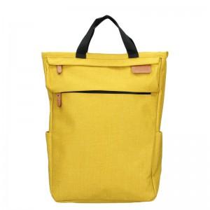 Trendy batoh New Rebels Fly – žlutá