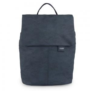Zwei Dámský batoh Mademoiselle Nubuk MR13 – matný modrý