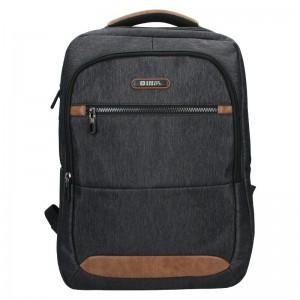 Moderní pánský batoh Enrico Benetti Cavalir – černo-šedá