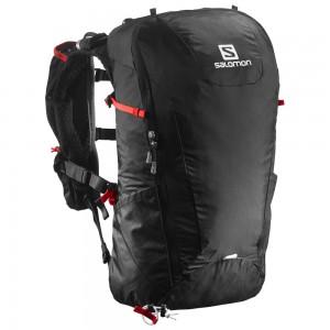 Salomon Peak 20 Black/ Bright red
