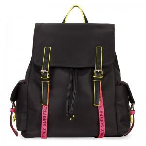 Dámský batoh Suri Frey Labil – černo-růžová