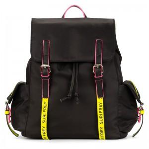 Dámský batoh Suri Frey Labil – černo-žlutá
