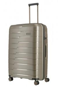 Travelite Skořepinový cestovní kufr Air Base L Champagne metallic 105 l