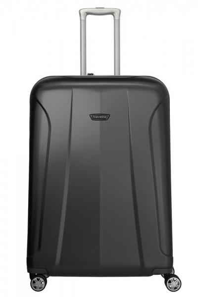Travelite Skořepinový cestovní kufr Elbe 4w L Anthracite 106 l